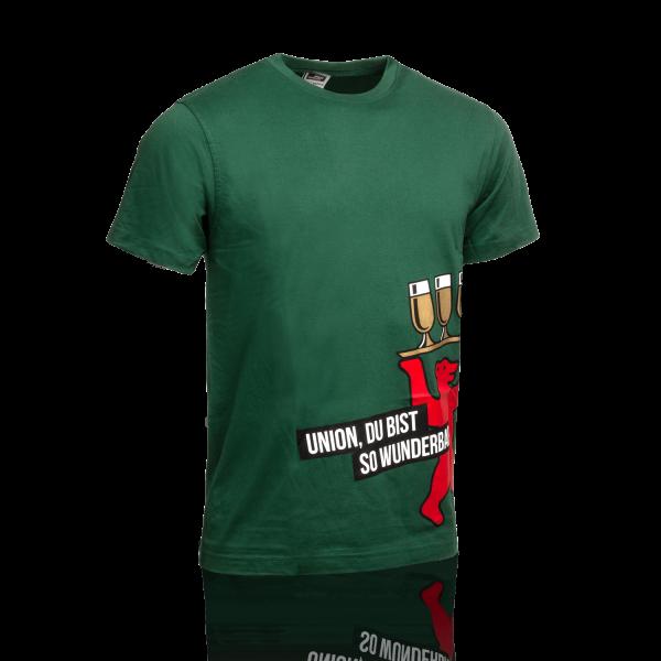 Berliner Pilsner T-Shirt, Motiv Wunderbar, Herren, grün