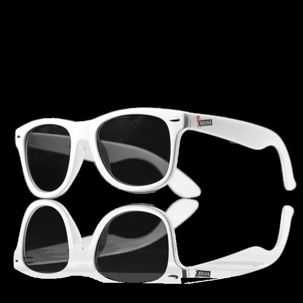 Berliner Pilsner Sonnenbrille, Motiv Berliner, weiß